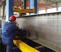 H type steel erecting machine