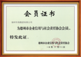 Corporate credit certificate